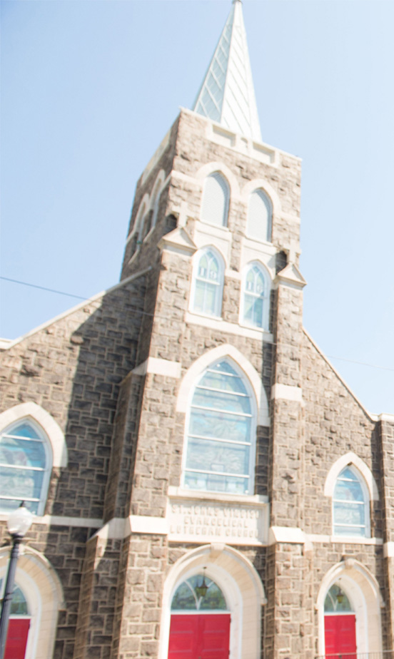 Iglesia Esperanza for Bethlehem in St. John's Windish Lutheran Church in Southside Bethlehem